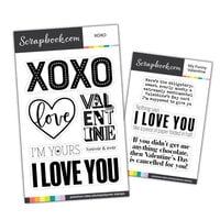 Scrapbook.com - Clear Photopolymer Stamp Set - Valentine Bundle