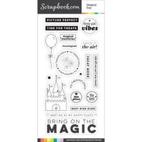Scrapbook.com - Clear Photopolymer Stamp Set - Magical Day