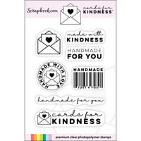Scrapbook.com - Clear Photopolymer Stamp Set - Cards for Kindness Mini