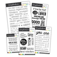 Scrapbook.com - Clear Photopolymer Stamp Set - Autumn Bundle