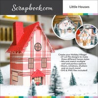 Scrapbook.com - Digital Cut File - Little Houses - Bundle of 27 Designs