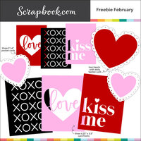 Scrapbook.com - Digital Cut File - Freebie February - Bundle of 10 Designs