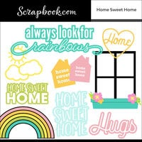 Scrapbook.com - Digital Cut File - Home Sweet Home - Bundle of 17 Designs