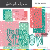 Scrapbook.com - Digital Cut File - Tis the Season - Bundle of 10 Designs