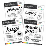 Clear Photopolymer Stamp Set - Say It With Sentiments Bundle