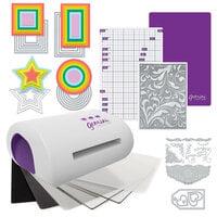 Exclusive Crafter's Companion Gemini Jr. Machine Die Cutting Bundle - Nested Basics Die Sets