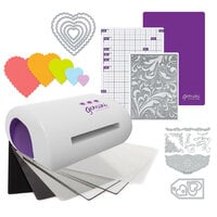 Exclusive Crafter's Companion Gemini Jr. Machine Die Cutting Bundle - Nested Scalloped Hearts