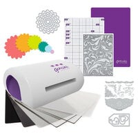 Exclusive Crafter's Companion Gemini Jr. Machine Die Cutting Bundle - Nested Flowers