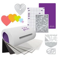 Exclusive Crafter's Companion Gemini Jr. Machine Die Cutting Bundle - Nested Hearts