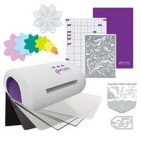 Exclusive Crafter's Companion Gemini Jr. Machine Die Cutting Bundle - Nested Spring Flowers