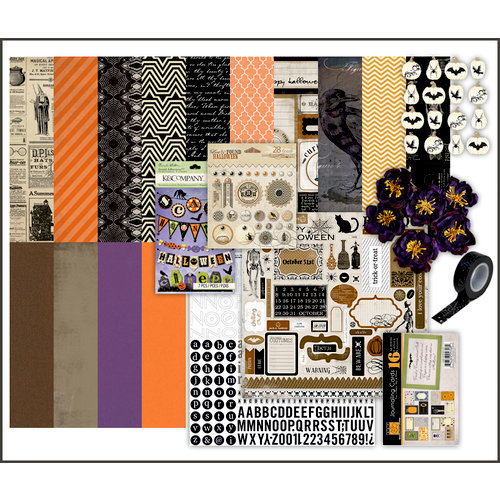 Scrapbook.com Kit Club - Halloween Curiosities
