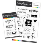 Clear Photopolymer Designer Stamps - Life Handmade Sentiments Bundle