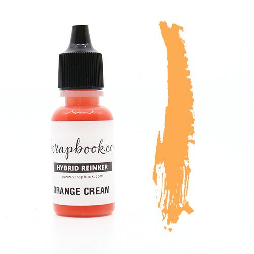 Scrapbook.com - Premium Hybrid Reinker - Orange Group - Orange Cream