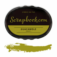 Scrapbook.com - Premium Hybrid Ink Pad - Green Group - Guacamole