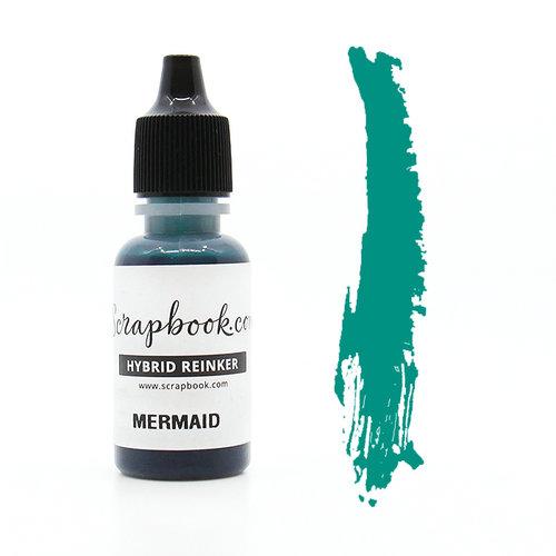 Scrapbook.com - Premium Hybrid Reinker - Cyan Group - Mermaid
