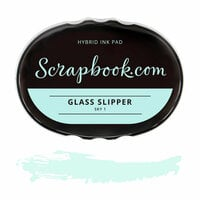 Scrapbook.com - Premium Hybrid Ink Pad - Sky Group - Glass Slipper