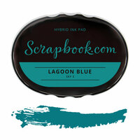 Scrapbook.com - Premium Hybrid Ink Pad - Sky Group - Lagoon Blue