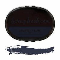 Scrapbook.com - Premium Hybrid Ink Pad - Blue Group - Midnight Blue