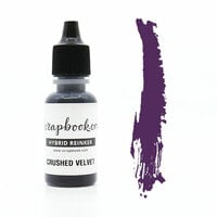 Scrapbook.com - Premium Hybrid Reinker - Violet Group - Crushed Velvet
