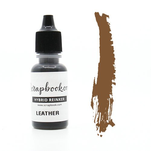 Scrapbook.com - Premium Hybrid Reinker - Wood Group - Leather