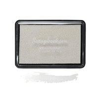 Scrapbook.com - Premium Pigment Ink Pad - Metallic Frost