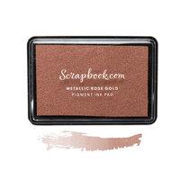 Scrapbook.com - Premium Pigment Ink Pad - Metallic Rose Gold