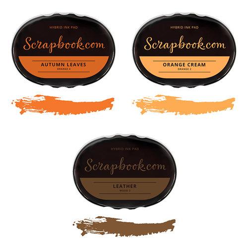 Scrapbook.com - Premium Hybrid Ink Pad Kit - Fall Group