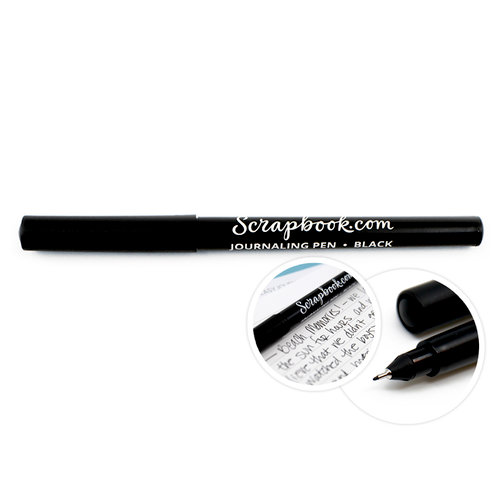 Scrapbook.com - Precision Point Journaling Pen - Black