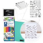 Exclusive - Make Your Own Cards Kit - I Love How You - 25 Pack - Complete Bundle