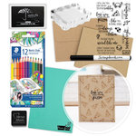 Exclusive - Make Your Own Cards Kit - Love You More - 25 Pack - Complete Bundle