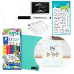 Exclusive - Make Your Own Cards Kit - My Silly Love - 25 Pack - Complete Bundle