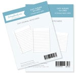 3 x 4 and 4 x 6 - Journaling Cards for Easy Albums - Lined Bundle