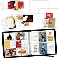Scrapbook.com - Magical Theme Park Easy Albums Kit with Black Album