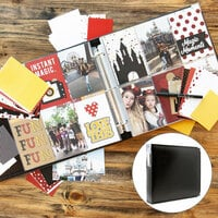 Magical Theme Park Easy Albums Kit with Black Album