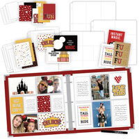 Scrapbook.com - Magical Theme Park Easy Albums Kit with Red Album