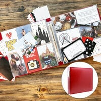 Magical Theme Park Easy Albums Kit with Red Album