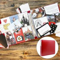 Scrapbook.com - Magical Theme Park Easy Albums Kit with Red Album