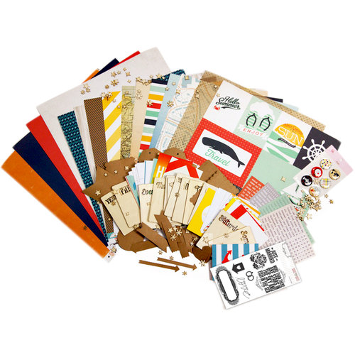 Scrapbook.com Kit Club - Nautical Days