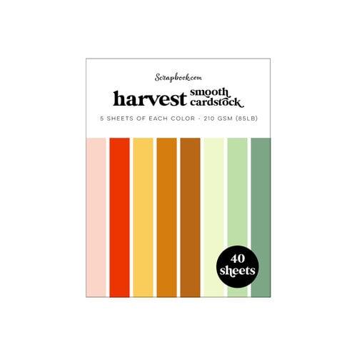 Scrapbook.com - Harvest - Smooth Cardstock Paper Pad - A2 - 4.25 x 5.5 - 40 Sheets