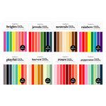 Scrapbook.com - Smooth Cardstock Paper Pad - A2 - Kit 2 - Bundle of 8 Paper Pads - 320 Sheets
