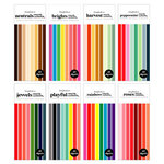 Scrapbook.com - Smooth Cardstock Paper Pad - Slimline - Kit 2 - Bundle of 8 Paper Pads - 320 Sheets