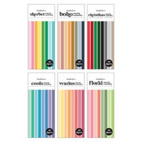 Scrapbook.com - Smooth Cardstock Paper Pad - Slimline - Bundle of 6 Paper Pads - 240 Sheets