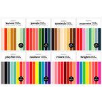 Scrapbook.com - Smooth Cardstock Paper Pad - 6x8 - Kit 2 - Bundle of 8 Paper Pads - 320 Sheets