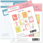 3 x 4 and 4 x 6 - Journaling and Themed Cards for Easy Albums - Baby Pinks Bundle