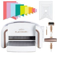 Scrapbook.com - Exclusive Spellbinders Platinum 6 Machine Die Cutting Bundle - Nested Jumbo Banners
