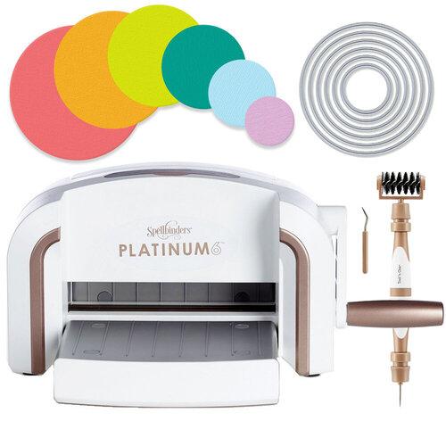 Exclusive Spellbinders Platinum 6 Machine Die Cutting Bundle - Nested Circles