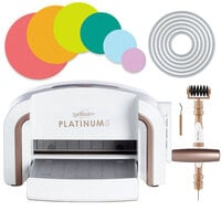 Exclusive Spellbinders Platinum 6 Machine Die Cutting Bundle - Nested Circles