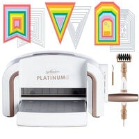 Exclusive Spellbinders Platinum 6 Machine Die Cutting Bundle - Nested Jumbo Die Sets