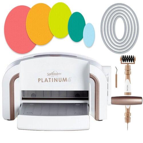 Exclusive Spellbinders Platinum 6 Machine Die Cutting Bundle - Nested Ovals