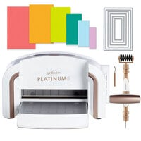 Exclusive Spellbinders Platinum 6 Machine Die Cutting Bundle - Nested Rectangles